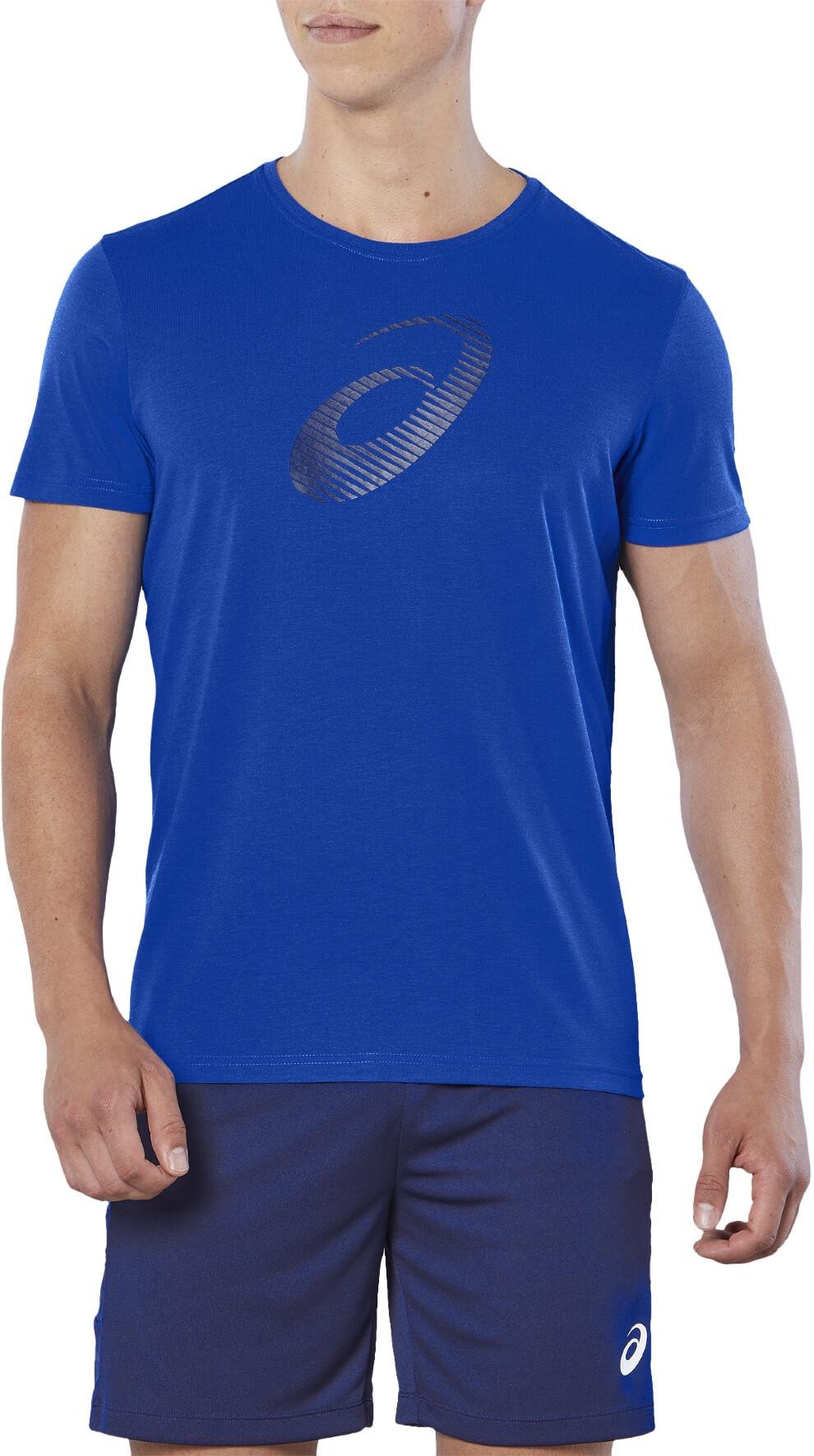 asics running shirt men